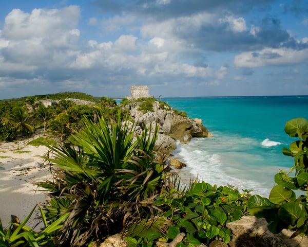 Tulum Coastline Photography Art | It's Your World - Enjoy!