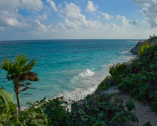 Tulum Mexico Waves Photography Art   It's Your World - Enjoy!