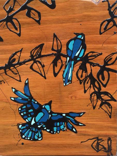 Feathered Romance Art | buchanart