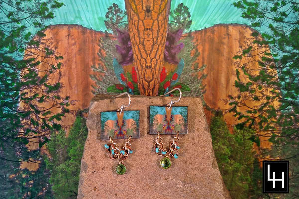 Environ 25 No. 10 Earrings | Loree Harrell Art