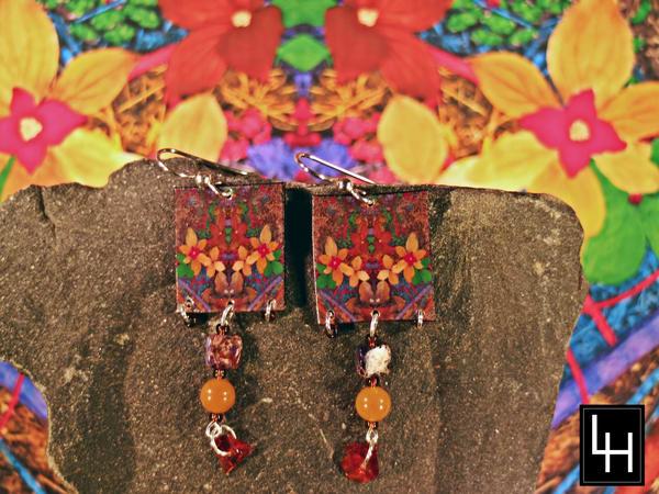 Environ 44 No. 7 Earrings | Loree Harrell Art