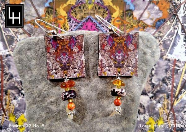 Environ 12 No. 5 Earrings | Loree Harrell Art