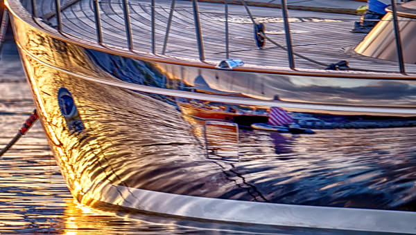 Summer Sailboat Reflection Art | Michael Blanchard Inspirational Photography - Crossroads Gallery
