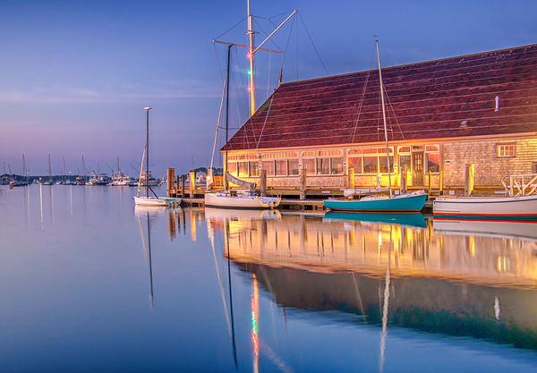 Edgartown Yacht Club Summer Reflection Art | Michael Blanchard Inspirational Photography - Crossroads Gallery