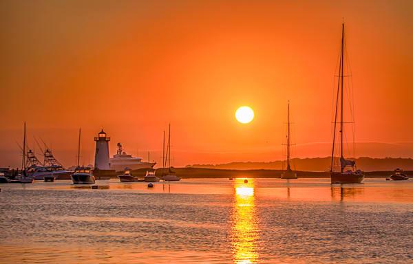 Edgartown Light Late Summer Morning Art | Michael Blanchard Inspirational Photography - Crossroads Gallery