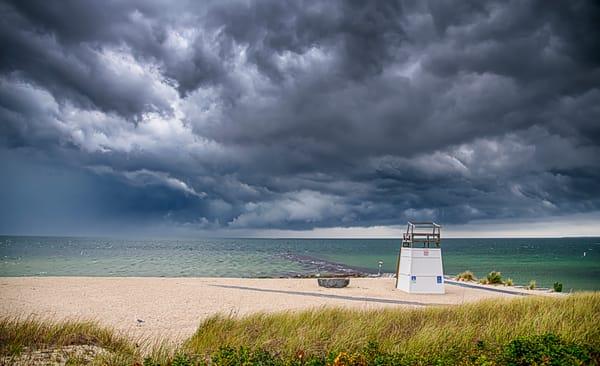 Inkwell Beach Storm Clouds Art | Michael Blanchard Inspirational Photography - Crossroads Gallery