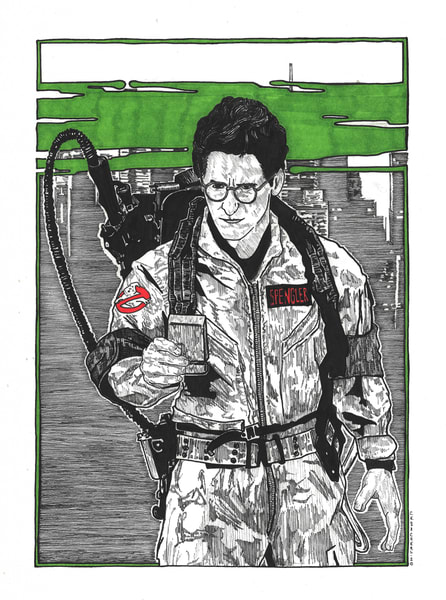 Egon Spengler of the Ghostbusters
