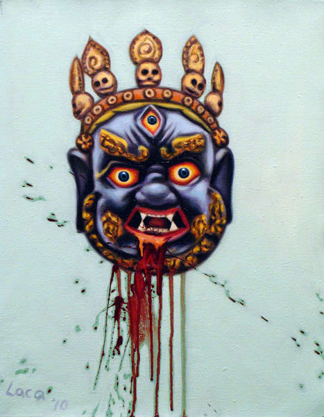 Oriental Mask I Art | Mathieu Laca