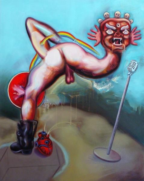 The Preacher Art   Mathieu Laca