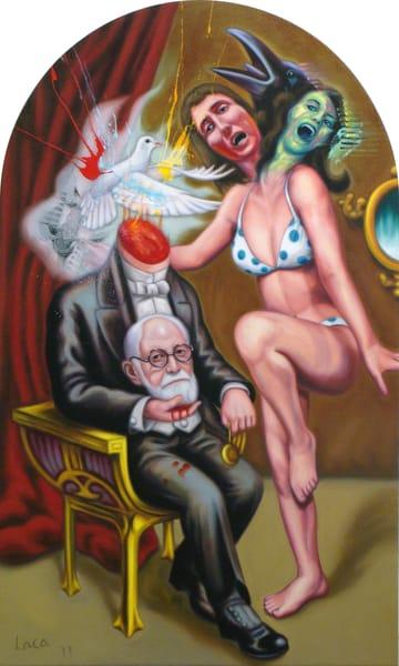 An Evening With Dr. Freud Art   Mathieu Laca
