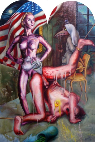 The Tea Party Art   Mathieu Laca