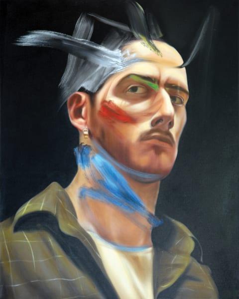 Self Portrait Art | Mathieu Laca