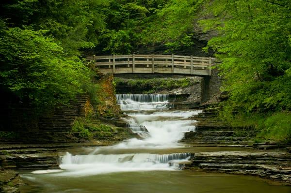 A Bridge Over Falls