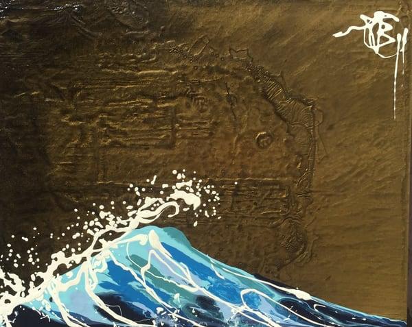 Golden Wave Art | buchanart