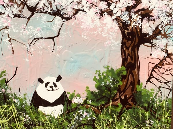 The Smiling Panda Art | buchanart