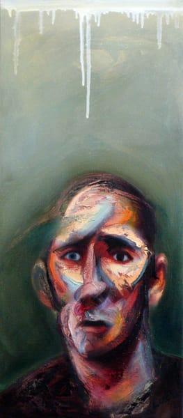 Vertical Self Portrait Art   Mathieu Laca