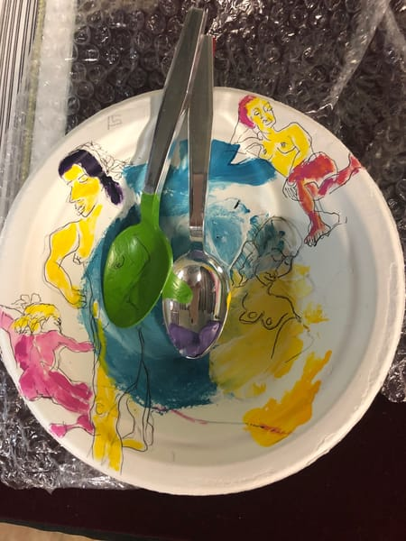 Figure Bowl Cereal Art | New Orleans Art Center