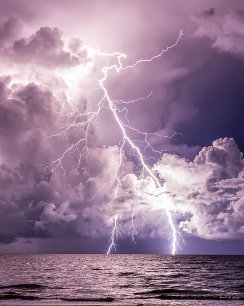 The Lightning and the Sea at Siesta Key