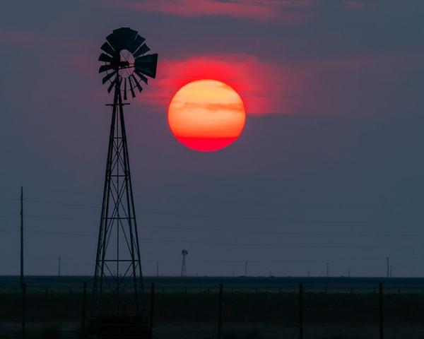 Smokey Sunset Art | Jim Livingston Art