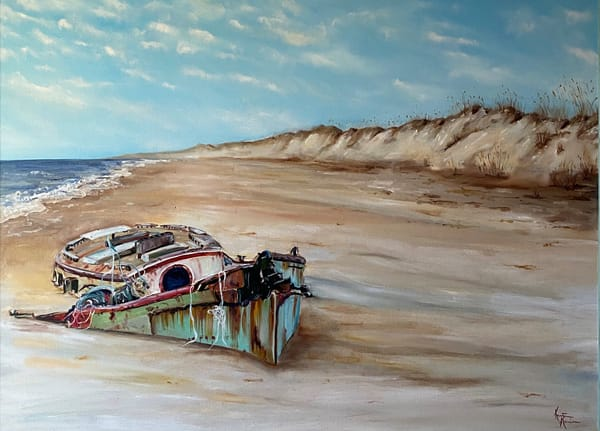 Silence By The Dunes Art | Kristine Kainer