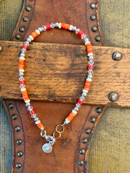 Coral Reef Anklet Art | Mickey La Fave