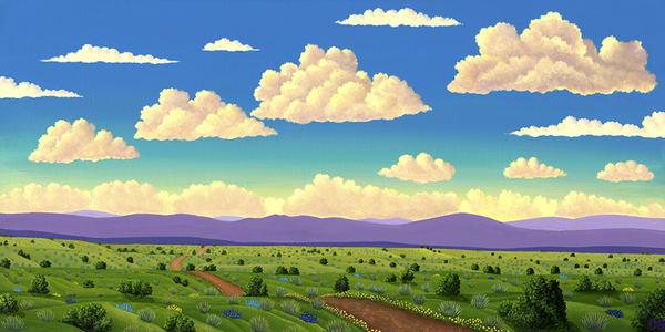 Long Winding Road Art   Fine Art New Mexico