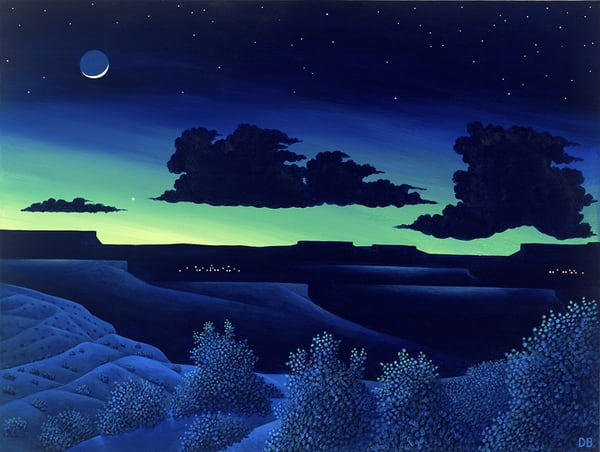 Twilight Art   Fine Art New Mexico