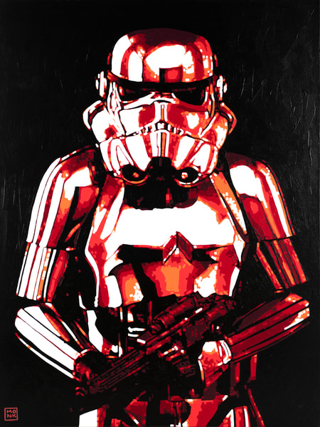 The Trooper Print Art | Todd Monk Art