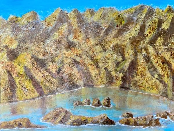 A Lake Is Born Art | Rowena Art Shop