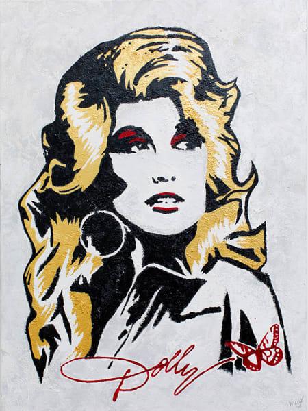 Dolly Pure Dolly Art | K. Randall Wilcox Fine Art