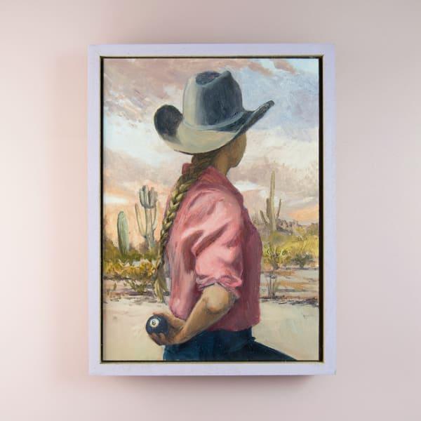 Cowgirl Braid 2 Art   Kym Day Studio