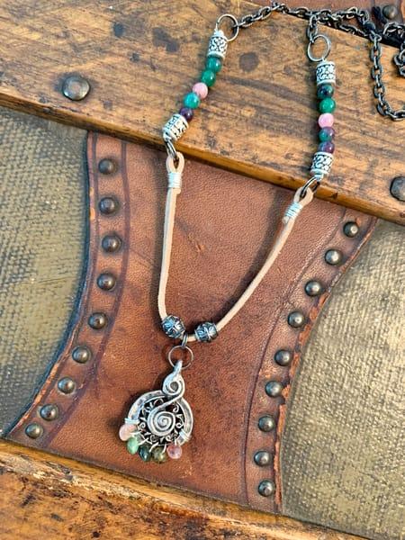 Woodstock Necklace Art | Mickey La Fave
