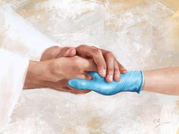 Healing Hands - Gloved