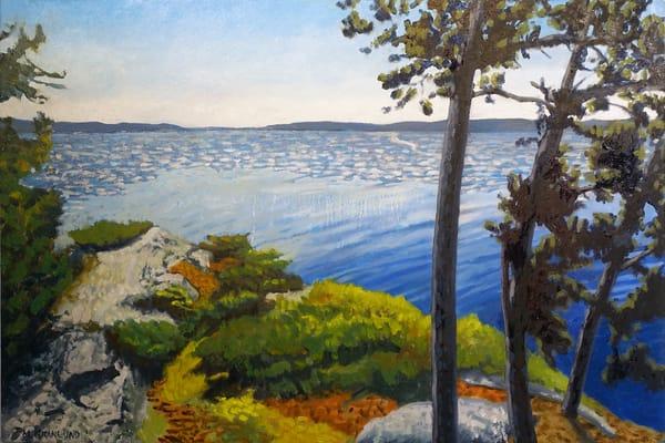 Three Trees Fine Art Print by Mark Granlund