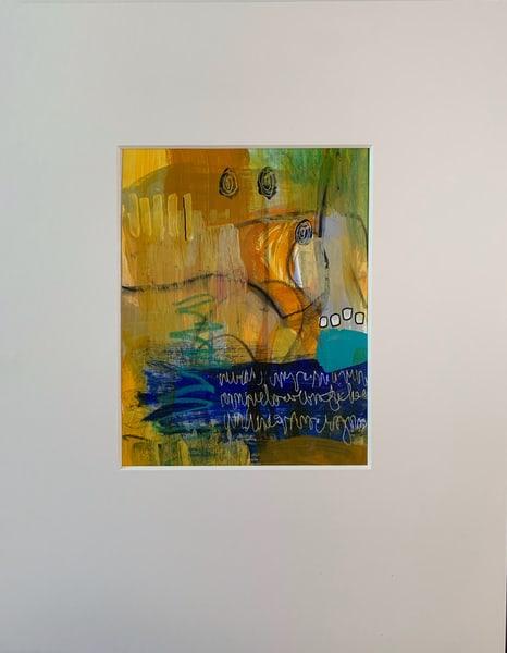 Yellow Glaze I Art | Julie Brown Art