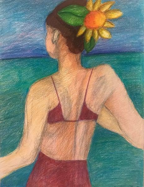 Woman With Flower Art | New Orleans Art Center