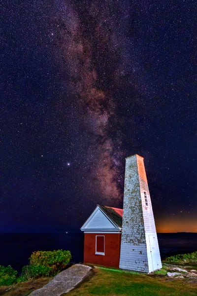 The Signal House Under the Stars | Shop Photography by Rick Berk