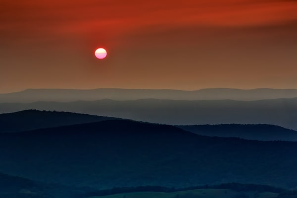 Shenandoah Sunset | Shop Photography by Rick Berk
