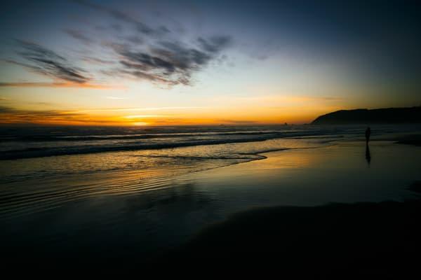 Sunset, Cannon Beach, Oregon, 2019