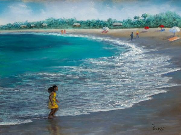 Fun At The Beach Art | Mark Grasso Fine Art