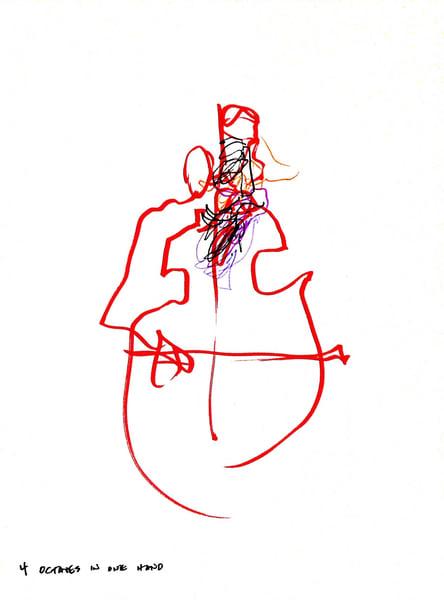 4 Octaves In One Hand (François Rabbath) Art | larahanson