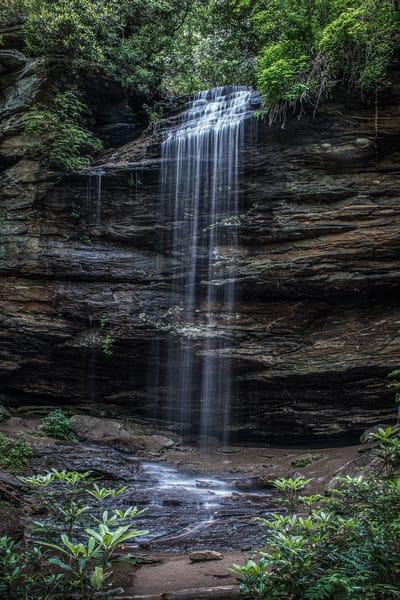 Moore Cove Falls Nc Photography Art   Kim Bova Photography