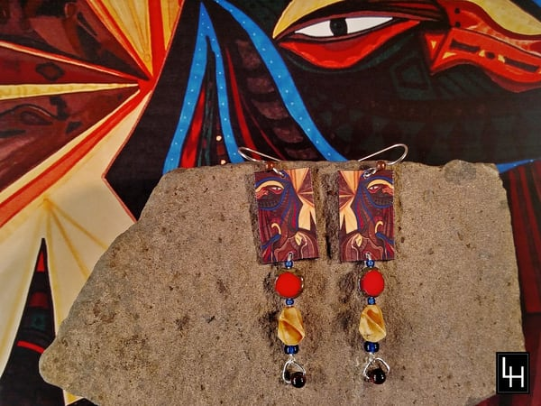 Ancient Dreams_No. 3 Earrings