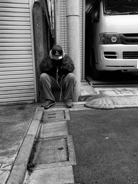 The Scooter Waits Photography Art | GW Fine Art Images