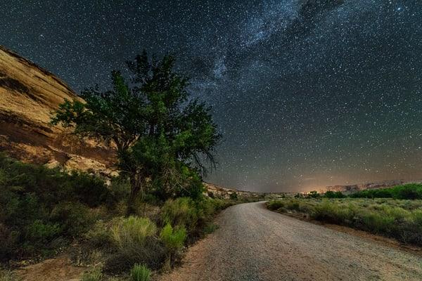 Sand Island Nightscape #2 Photography Art | Carol Brooks Parker Fine Art Photography