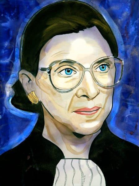 Ruth Ginsburg Art | William K. Stidham - heART Art