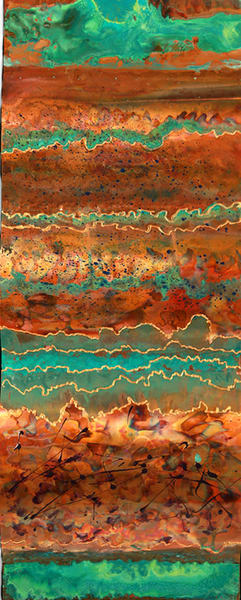 Metallic Wave Ii Art | Hackley Fine Art