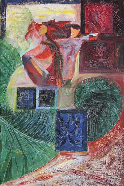 Feelings, Original Acrylic Painting