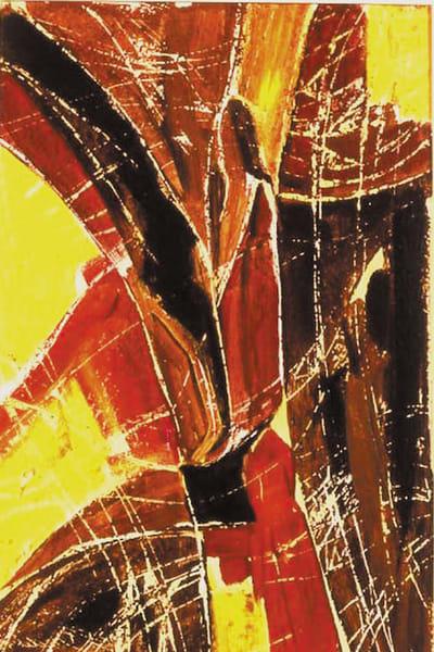 Yellow Women, Original Acrylic Painting