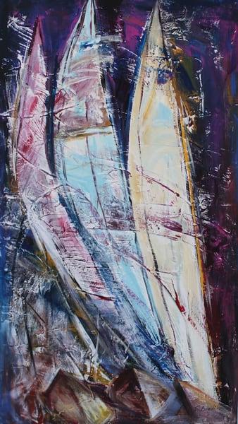 Follow The Wind, Original Acrylic Painting